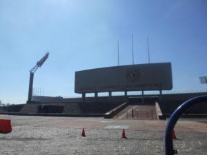 オリンピック・スタジアム正面入口