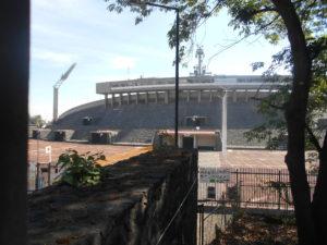 オリンピック・スタジアム側面