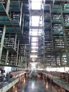 バスコンセーロス図書館の内部
