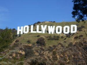 ロサンゼルスの「ハリウッドサイン」