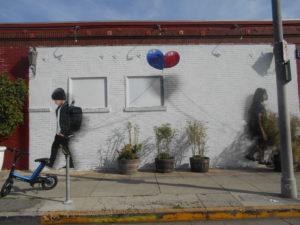 メルローズ通りの壁画④