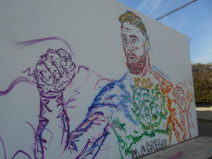 メルローズ通りの壁画②