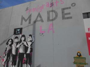 メルローズ通りの壁画①