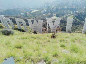 ハリウッドサインの裏側