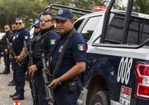 メキシコの警察官