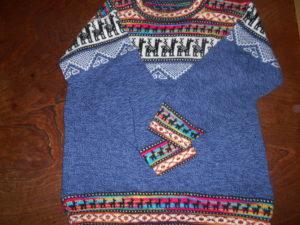 クスコで購入したセーター