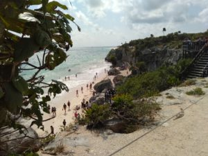 トゥルム遺跡のビーチ