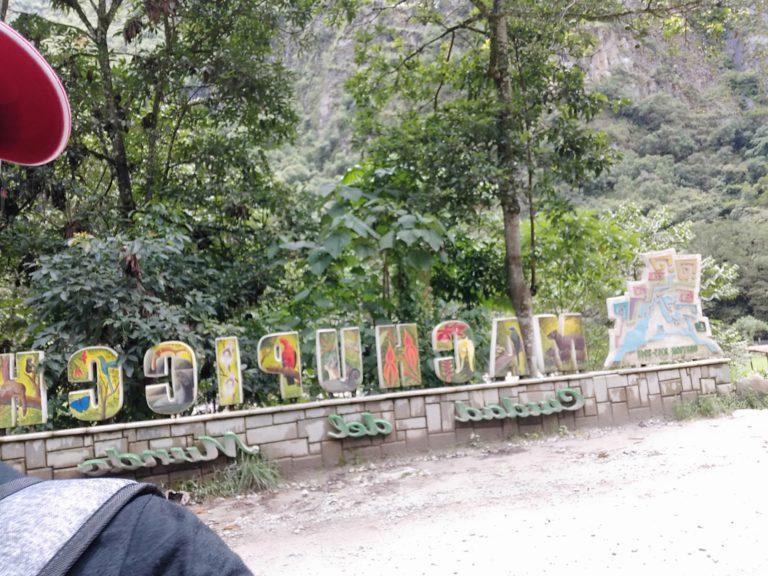 マチュピチュ村のマチュピチュのオブジェ