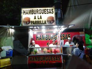 世界一美味しいハンバーガー屋台