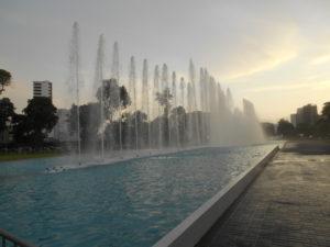 レセルバ公園の噴水