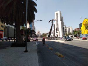 共和国広場からの通り