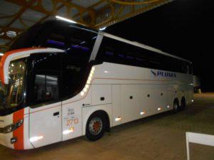 チエテバスターミナル発フォスドイグアス行きのバス