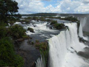 ブラジル側のイグアスの滝①