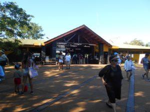 アルゼンチン側イグアス国立公園の入口周辺