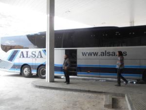 スペイン最大手バス会社「ALSA」