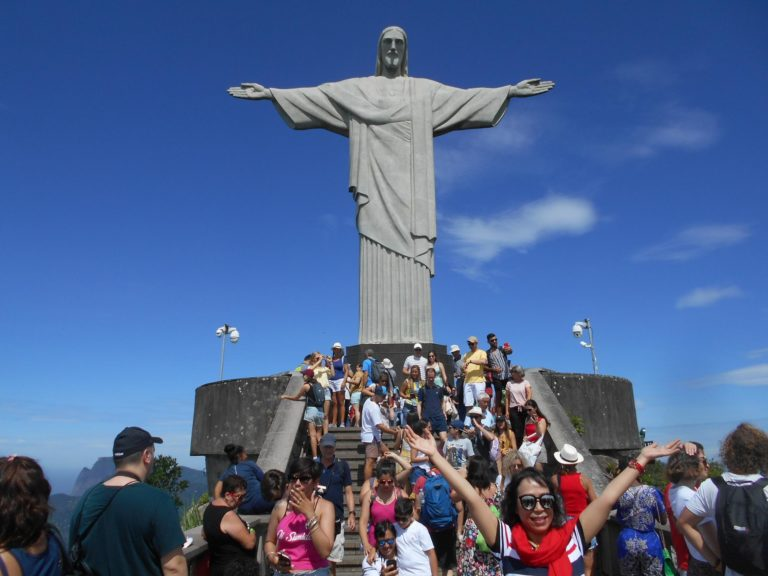 コルコバードの丘の「キリスト像」