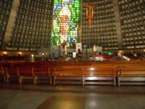 リオデジャネイロ大聖堂の内部