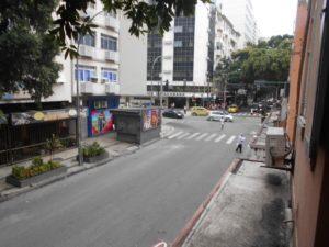 リオのカーニバル時期の豪雨数時間前