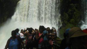 イグアス国立公園のアッパートレイル