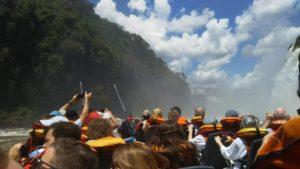 イグアス国立公園のボートツアー①