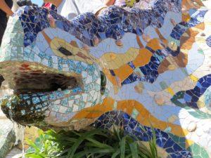 グエル公園の大トカゲ
