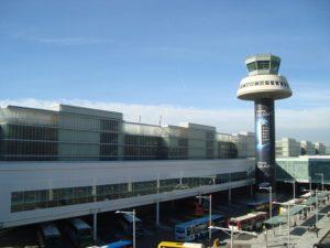 バルセロナのエルプラット国際空港