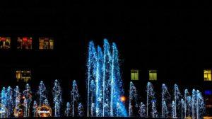 バルセロナの噴水ショー