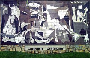 ピカソの「ゲルニカ」