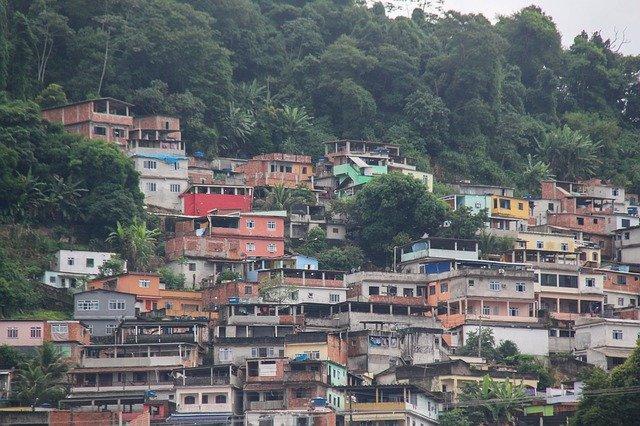 リオデジャネイロの「ファベーラ」