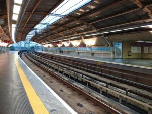 サンパウロの地下鉄