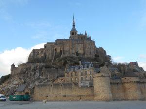 西洋の驚異と謳われている「モン・サン・ミッシェル」