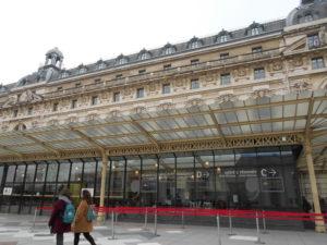 誰もいないオルセー美術館