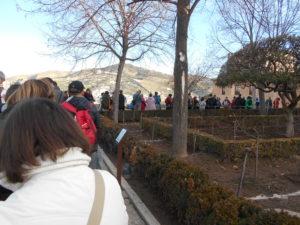 ナスル朝宮殿への行列
