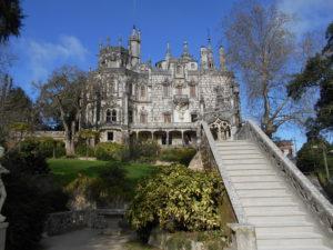 レガレイラ宮殿と階段