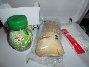 TAPポルトガル航空の機内食