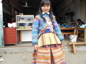 花モン族の少女