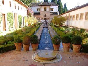 アキセアの中庭