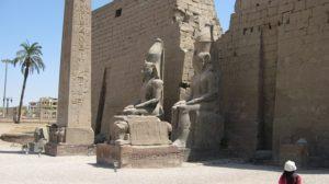 1本しかないルクソール神殿のオベリスク