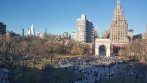 ワシントンスクエア公園の凱旋門