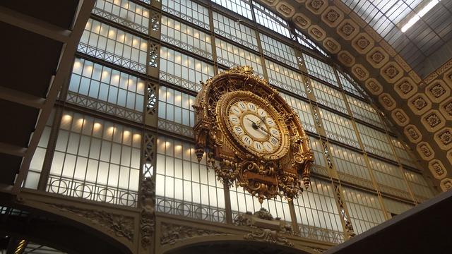 オルセー美術館の時計台