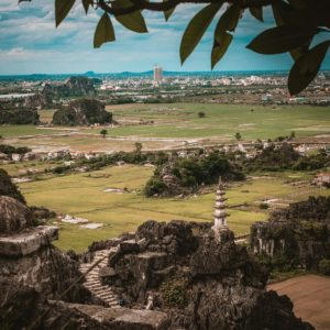 ムア洞窟からの景色