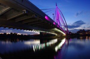 マレーシアで最も美しい斜張橋/スリ・ワワサン橋