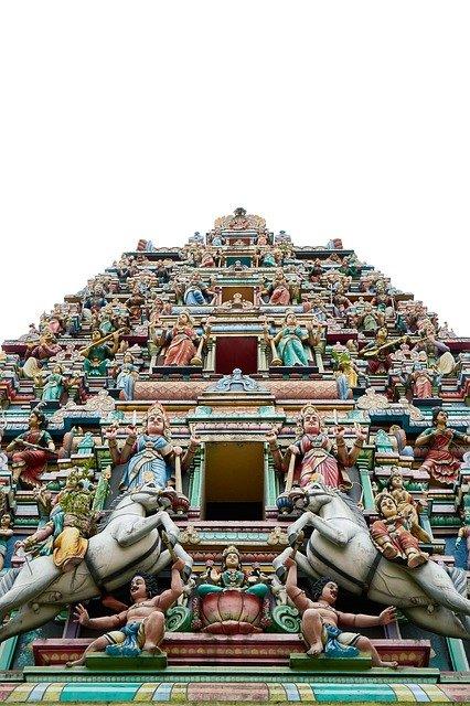 スリ・マハ・マリアマン寺院の「ゴプラム」