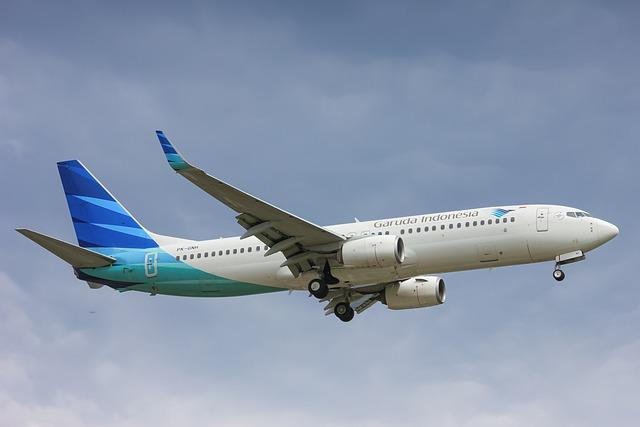 日本からの唯一の直行便「ガルーダインドネシア航空」