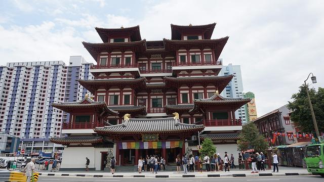正式名称:新加坡佛牙寺龍牙院  通称:仏牙寺