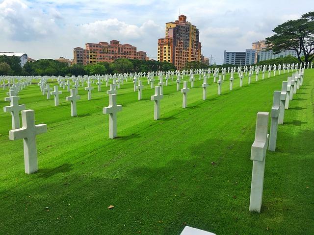 マニラにある「American Memorial Cemetery」
