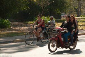 シェムリアップのレンタル自転車