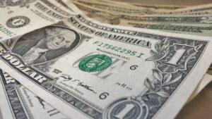 アメリカの1ドル札