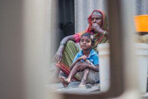 貧困層の子供