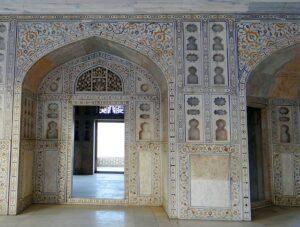 アーグラ城の内部